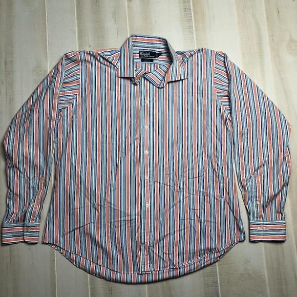 Polo by Ralph Lauren Other - Polo Ralph Lauren Striped Dress Shirt 17 XL